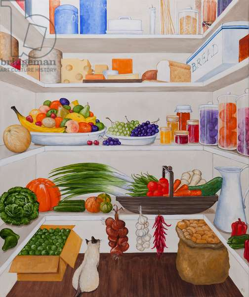 Pantry of Earthly Delights, 2012 (oil on linen)
