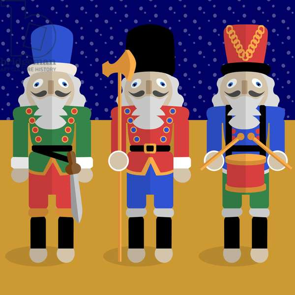 Christmas Nutcrackers - Good Luck Symbols