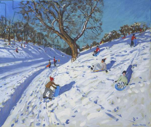 Bright morning,Chatsworth,2013(oil on canvas)