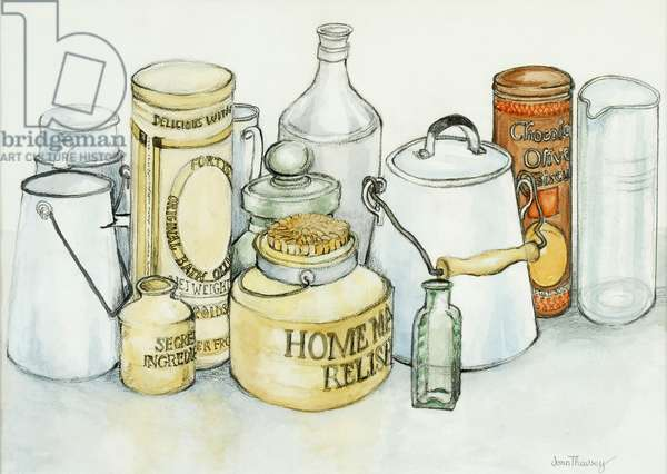 Bygones,2000,(graphite with watercolour wash)