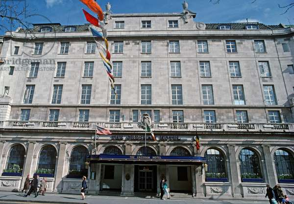 Gresham Hotel, referred to by James Joyce in The Dead, 'Dubliners', Dublin, Ireland (photo)