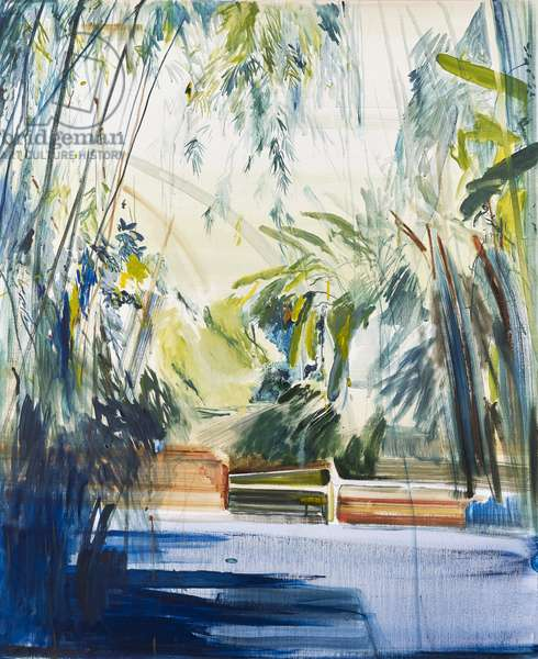 Palm House, Kew Gardens, 2018, (oil on canvas)