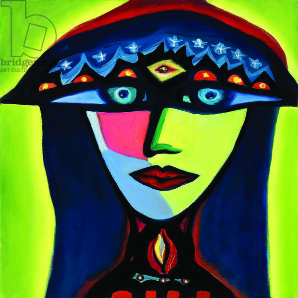 Isabella, The Polish Gypsy, 2007, (oil on canvas)