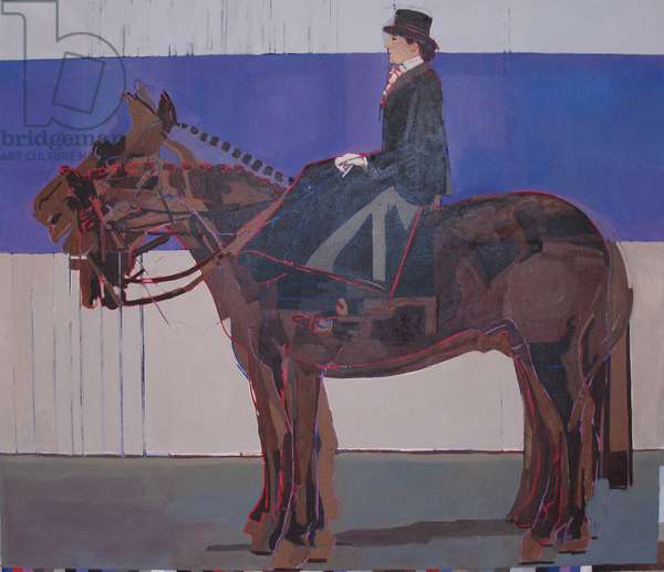This Horse Doesn't Move, 2010 (oil on canvas)