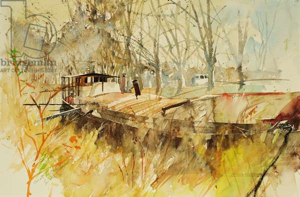 Canal du Midi 2000 (watercolour