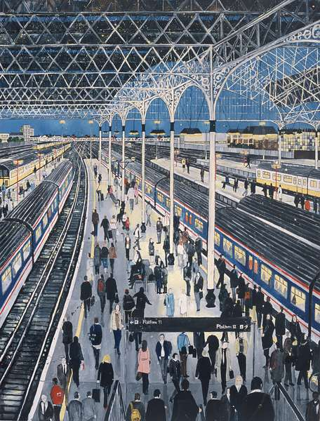 London Bridge ( oil on canvas), 2006