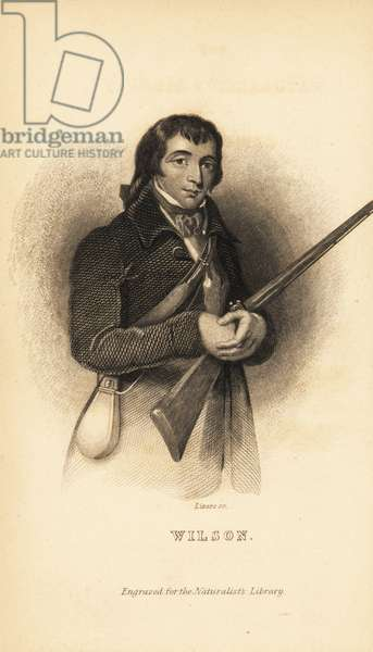 Alexander Wilson, Scottish American ornithologist, naturalist and poet, 1766-1813
