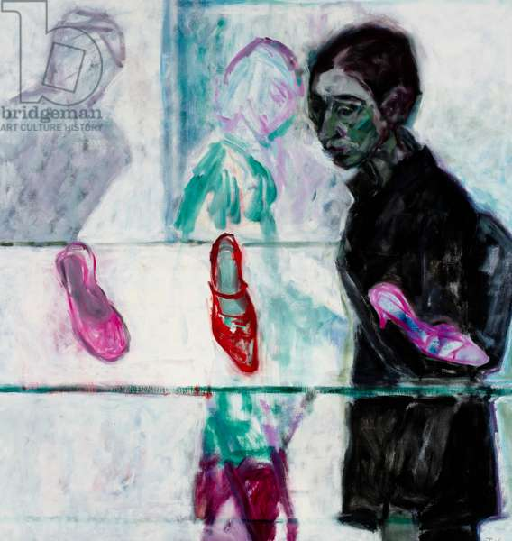 The Shoe Shop III, 2004 (oil on canvas)