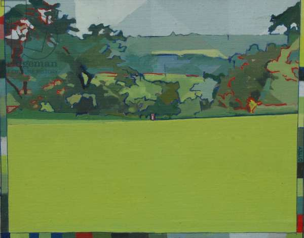 Burpham Bin, 2012 (oil on panel)