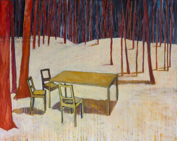 Let the golden age begin, 2012, (acrylic on canvas)