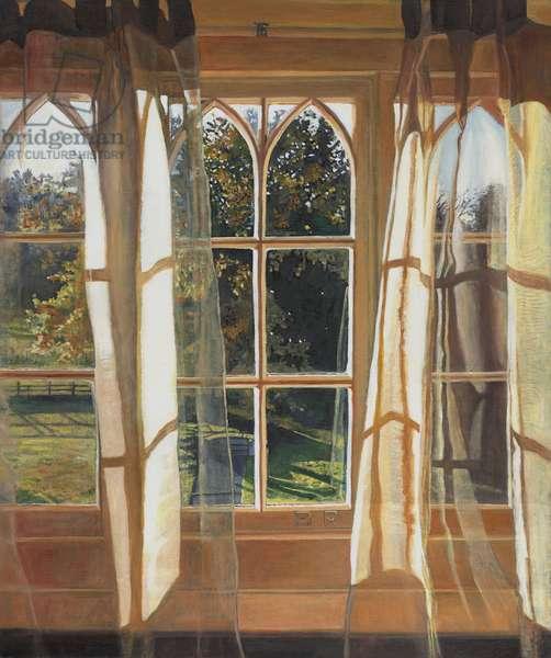 The yellow window, 2013, (oil on canvas)