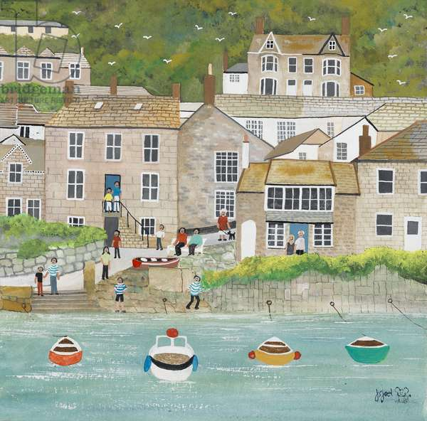 The Wharf at Mousehole