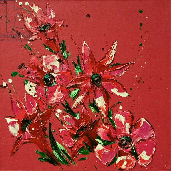 Flower, 2011, (oil on canvas)