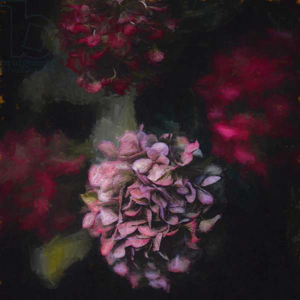 Blooming, 2020, (painting)