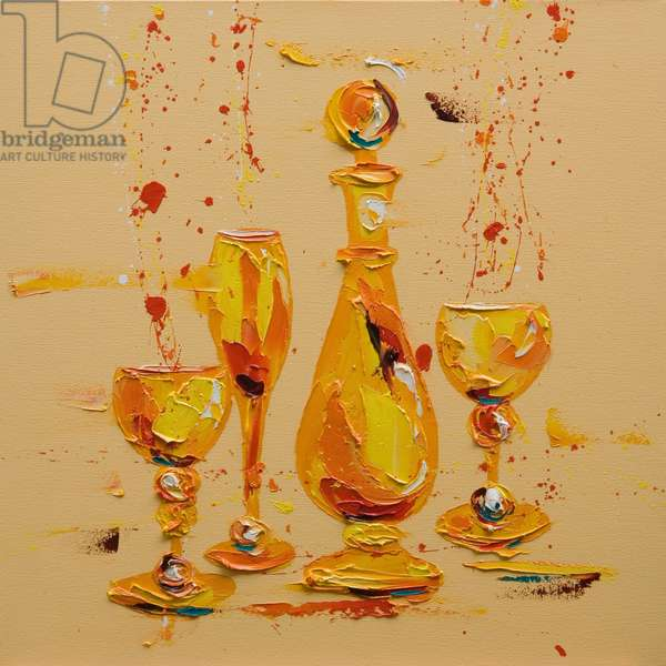 Still Life in Yellow, 2005 (oil on canvas)