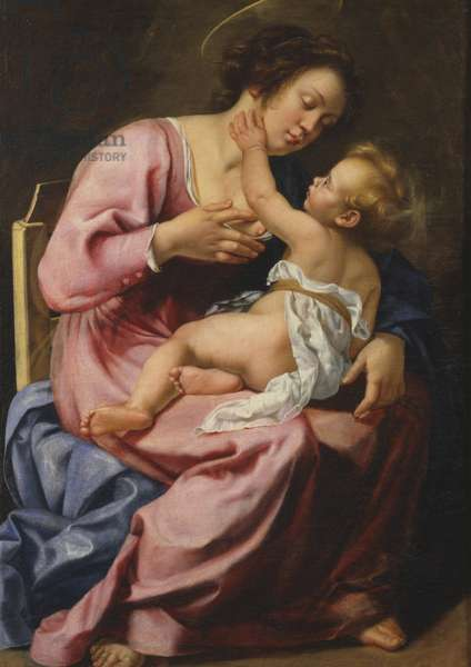 Madonna nursing the Child, 1610 (oil on canvas)