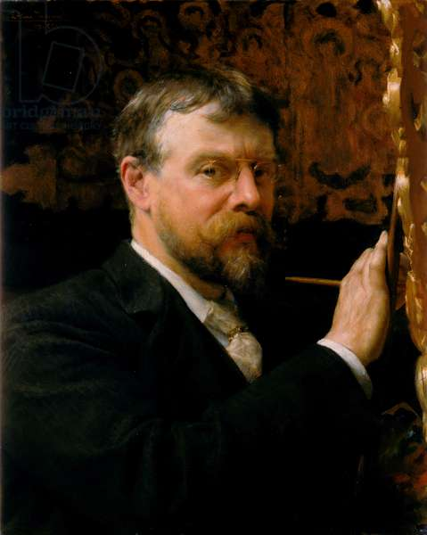 Self portrait of Lawrence Alma-Tadema