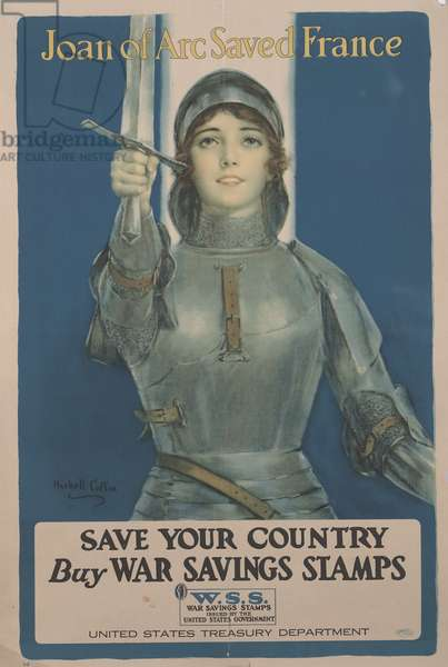 Save Your Country, Buy War Savings Stamps, 1918 (colour offset litho)