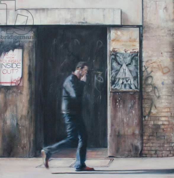 Do You Know Yourself, East London, 2009 (oil on canvas)
