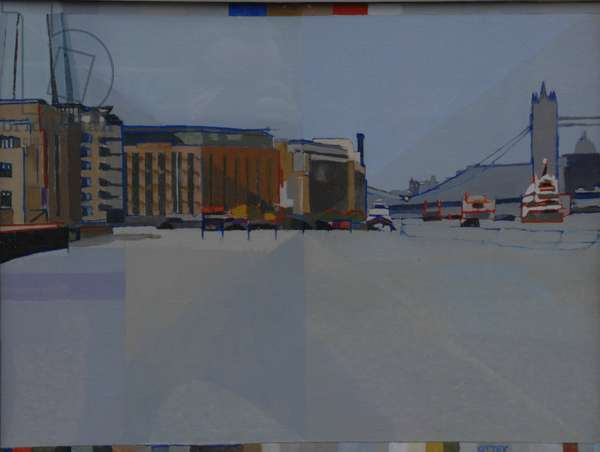 David Streek's, Bermondsey, 2012 (oil on board)