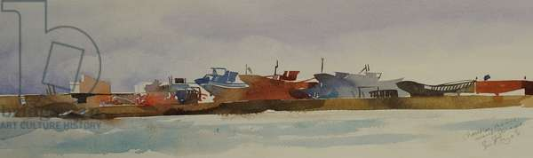 Chantier marine 2008 (watercolour)