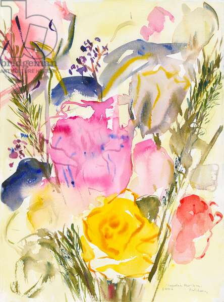 Roses, 2006, (watercolour on paper)