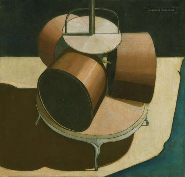 Chocolate Grinder, 1913 (oil on canvas)