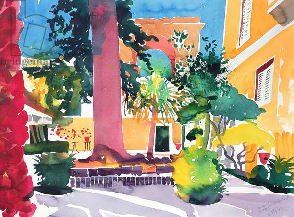 Georgio Michaelis, Corfu, 2005 (watercolour)