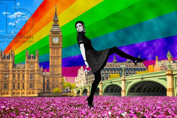London Pride, 2017, (giclee print)