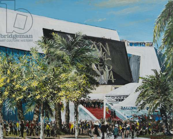 Cannes 2014, 2014, (acrylic on canvas board)
