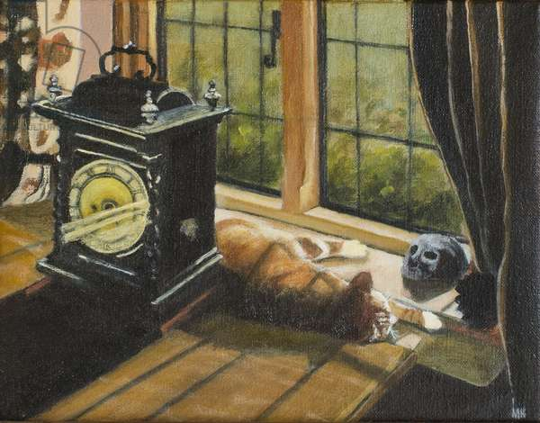 Tempus Fugit, 2003 (oil on canvas)