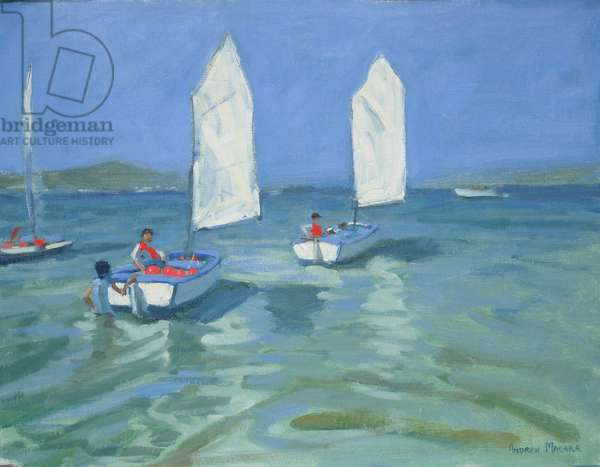 Sailing School, 2009 (oil on canvas)