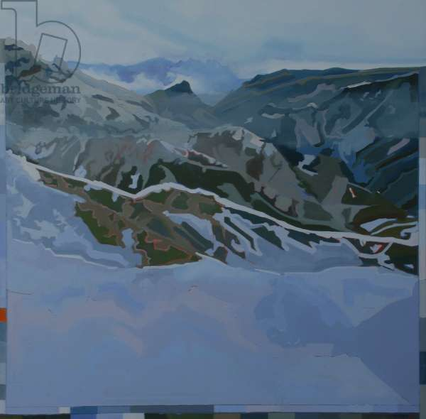 Ice Cold Mountain, 2010 (oil on canvas)
