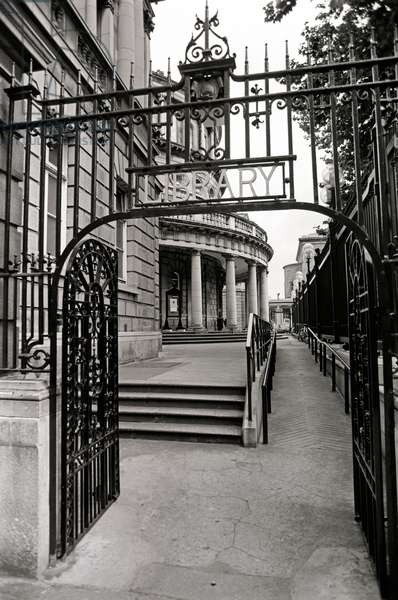 National Library, Dublin, Referred to in James Joyce 'A portrait of the Arist as a Young Man', Ireland (photo)