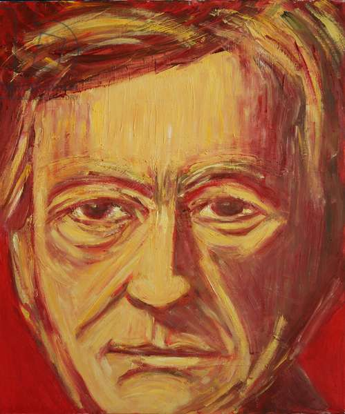 Richard Wagner (oil on canvas)