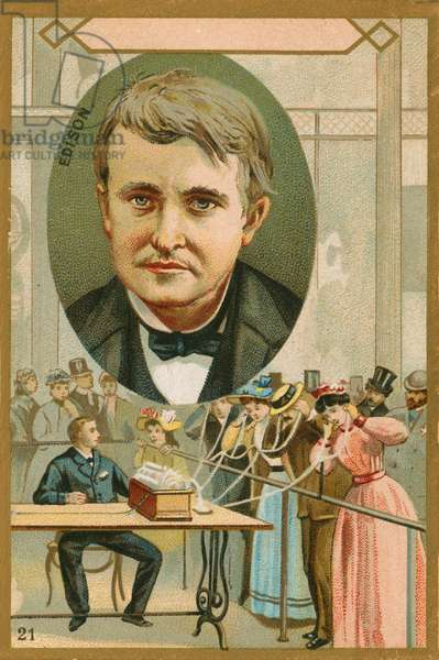 Thomas Edison (chromolitho)