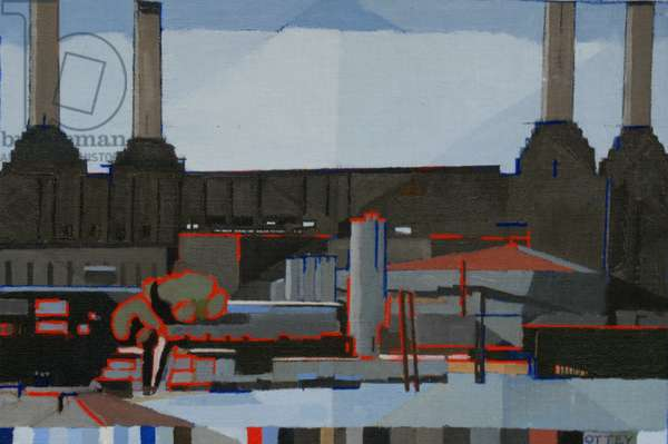 Battersea, 2011 (oil on panel)