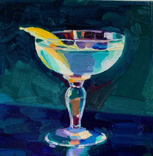 Cocktail 3, 2019, (oil on board)