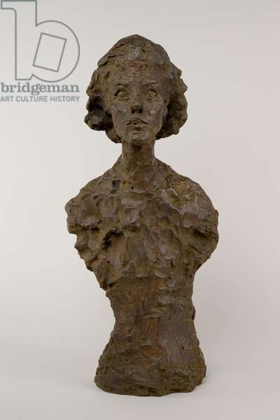 Bust of Annette VIII, 1962 (bronze)