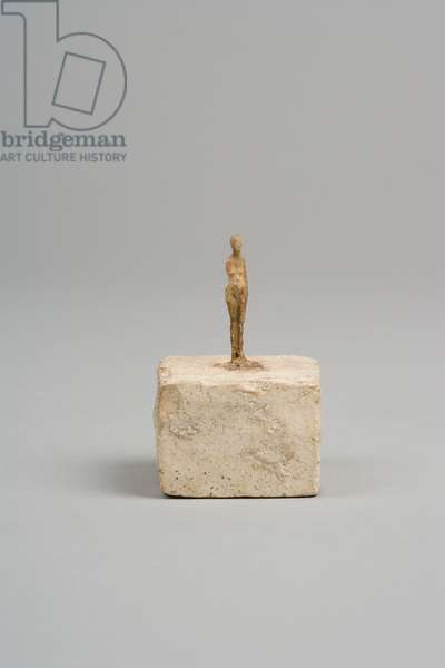 Very Small Figurine, c.1937-1939 (plaster reworked with pocket knife)