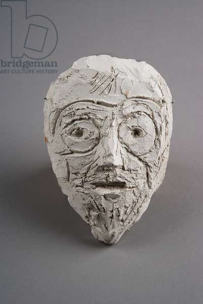 [Head of Father (Mask)], c.1927-9 (plaster)