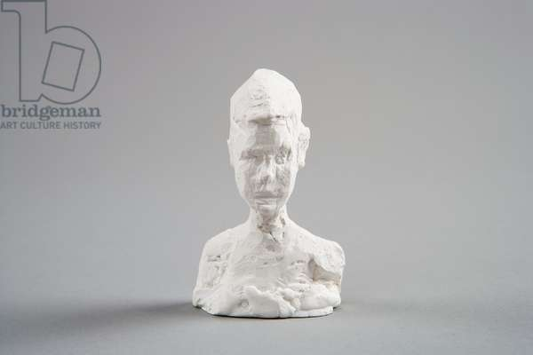 [Small Bust of Silvio], c.1944-5 (plaster reworked with pocket knife)