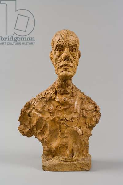 [Bust of Diego, second version], 1964 (plaster)