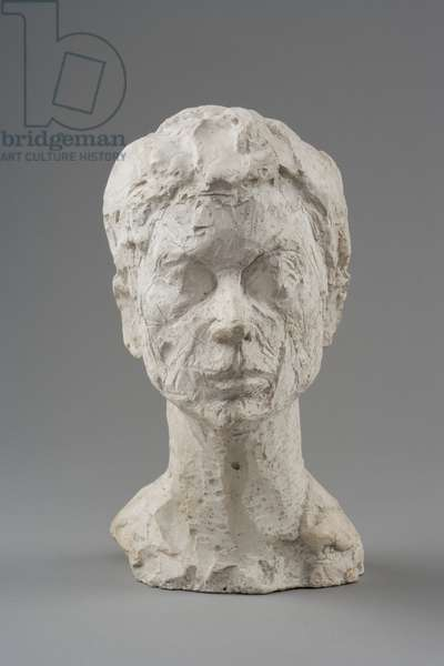Head of Woman [Rita], 1937-8 (plaster reworked with pocket knife)