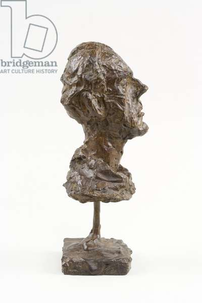 Diego (Head with Turtleneck), c.1954 (bronze)
