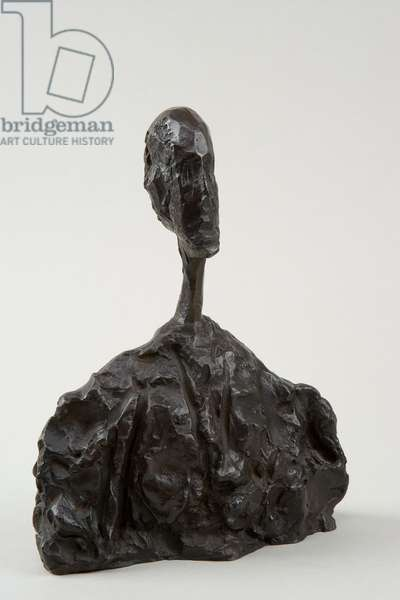 [Small Bust of Man], c.1951 (bronze)