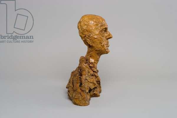 Head of Man (Lotar I), c.1964-65 (plaster) (see also 861042)