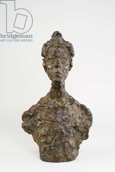 Bust of Annette (Venice), 1962 (bronze)