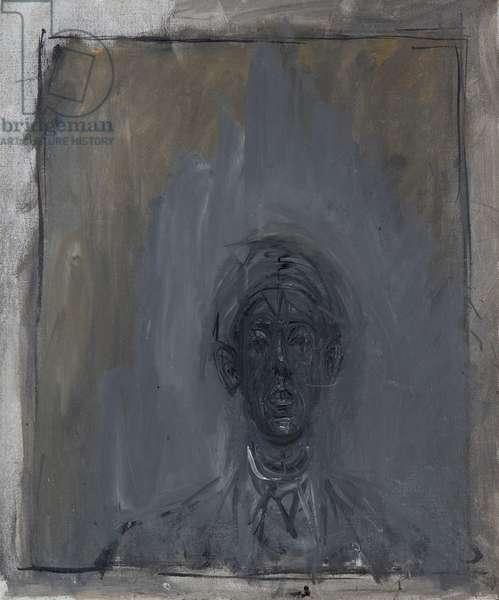Portrait of Isaku Yanaihara, December 1956 (oil on canvas)
