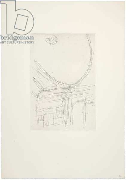 The Ceiling IV, 1958-60 (etching)
